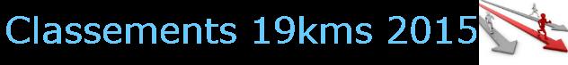 classement 19kms